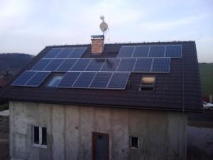 Solárna fotovoltická elektráreň na dom
