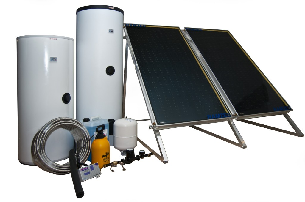 solárne ploché kolektory