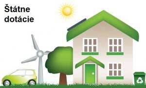 Štátna dotácia na solárne systémy