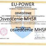 certifikovaný inštalatér