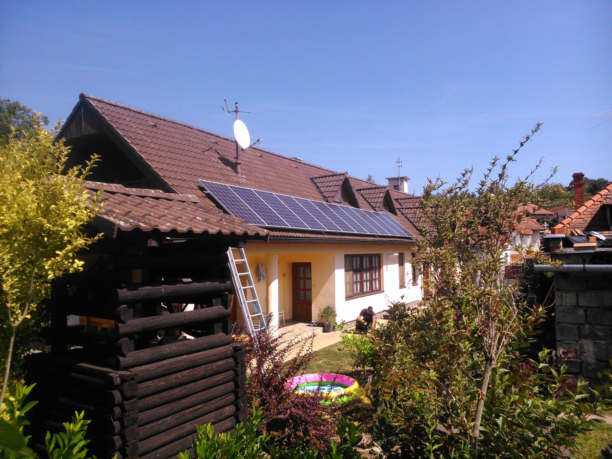 Fotovoltaická elektráreň hybrid 3,12 kW + Li-Ion 6,8kWh, Zlaté Moravce