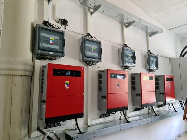 200 kW FVE meniče Goodwe