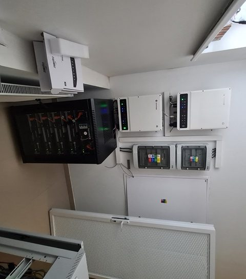 Hybrid systém Holíč 20 kW
