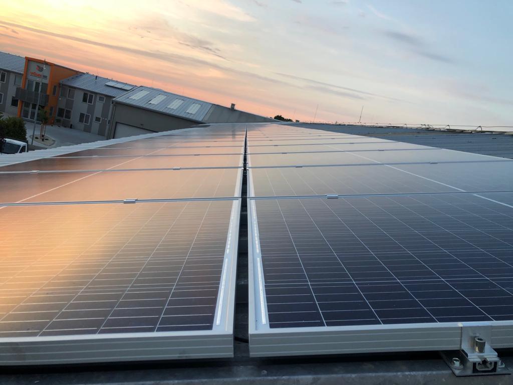 60 kW FV systém na fire v Černíku